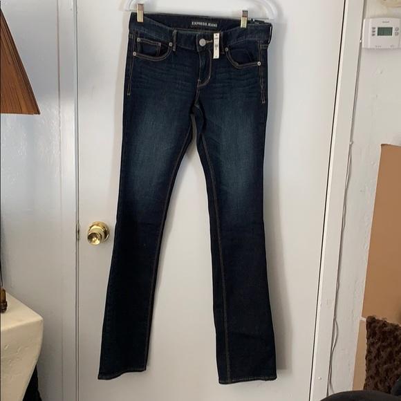 Express Denim - Blue barely boot cut Jeans